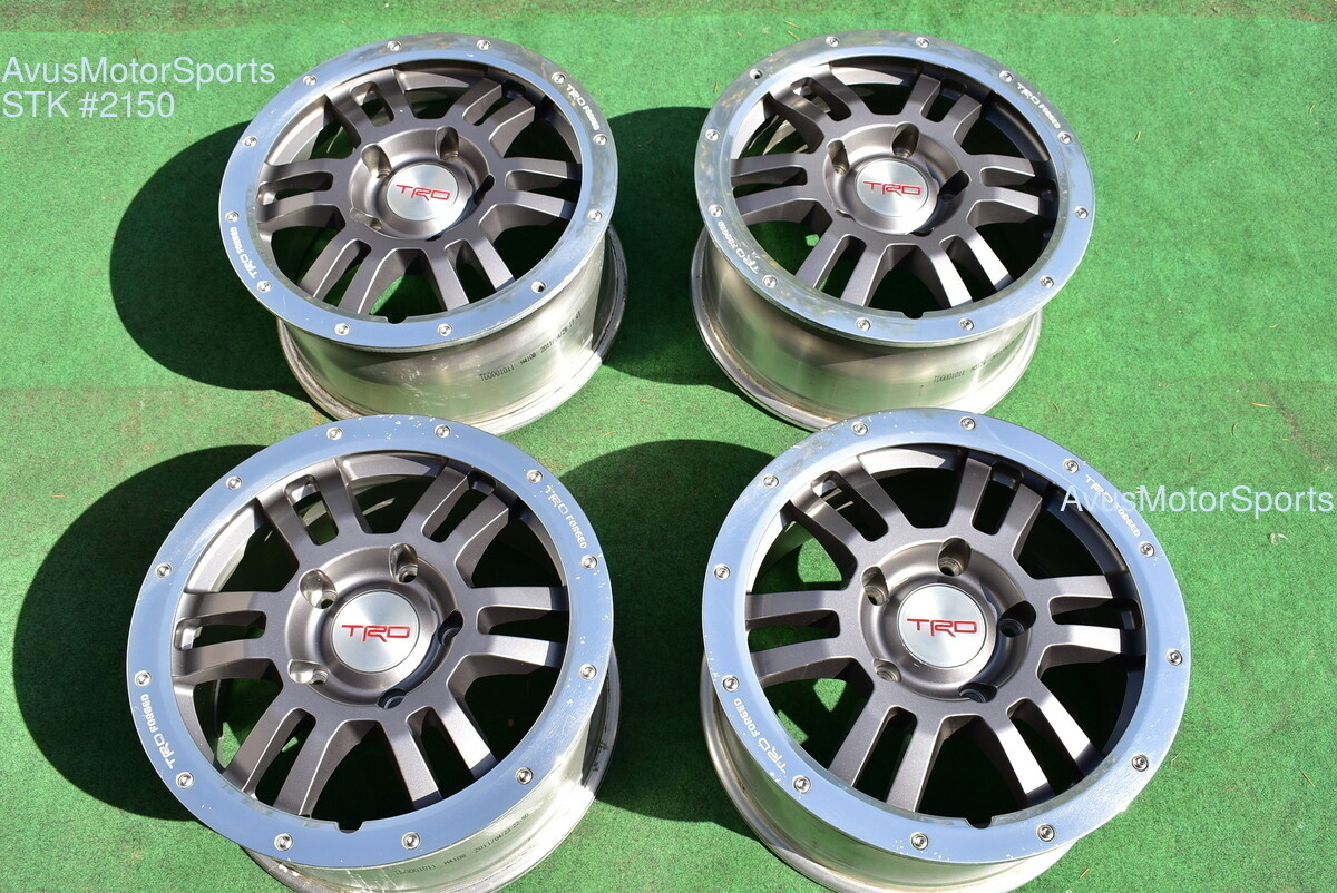 "17"" Toyota Tundra Rock Warrior OEM TRD Wheels Sequoia Land Cruiser Lexus Lx570"