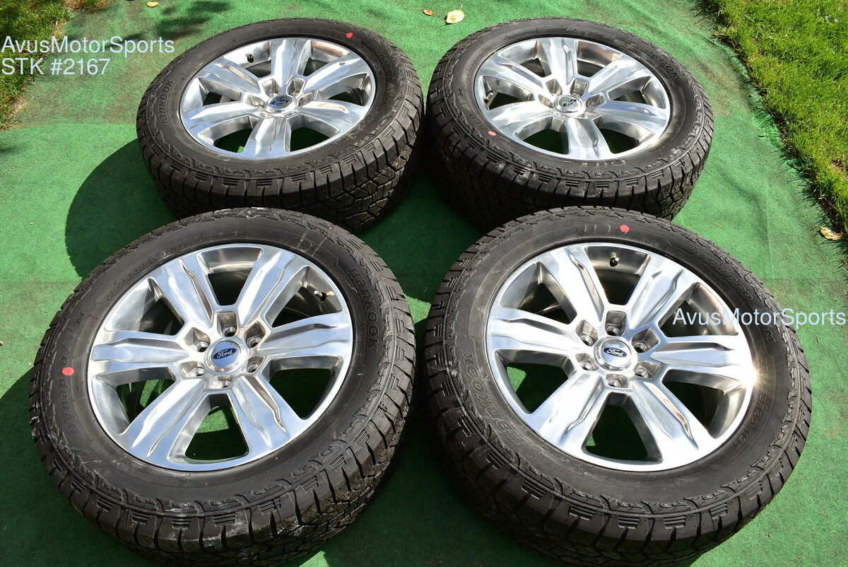 """20"""" Ford F150 OEM Factory Platinum Wheels Tires Expedition 2017 2018 2019 + TPMS"""