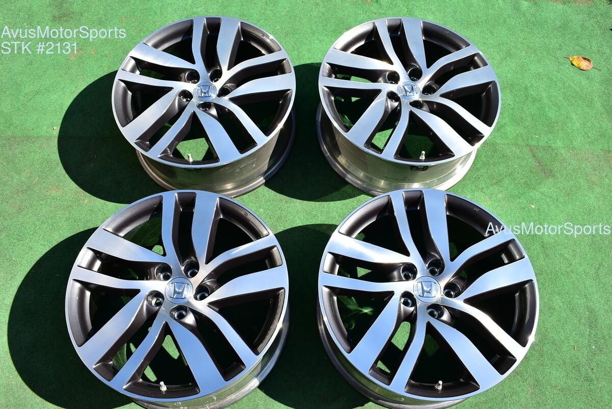 "20"" Honda Pilot Touring OEM Factory Wheels Ridgeline Acura MDX TL 2017 2018 TPMS"