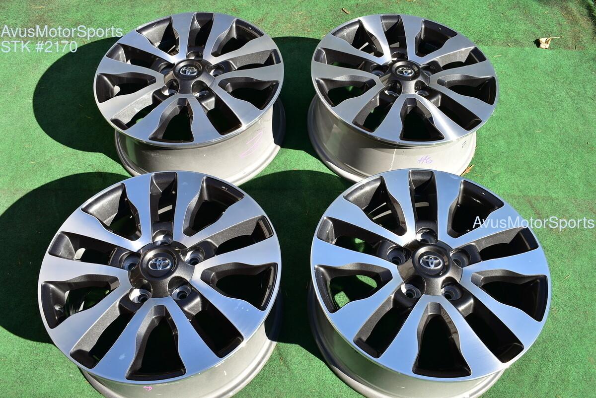 "20"" Toyota Tundra Limited OEM Wheels Sequoia Land Cruiser Lx570 2018 2019"