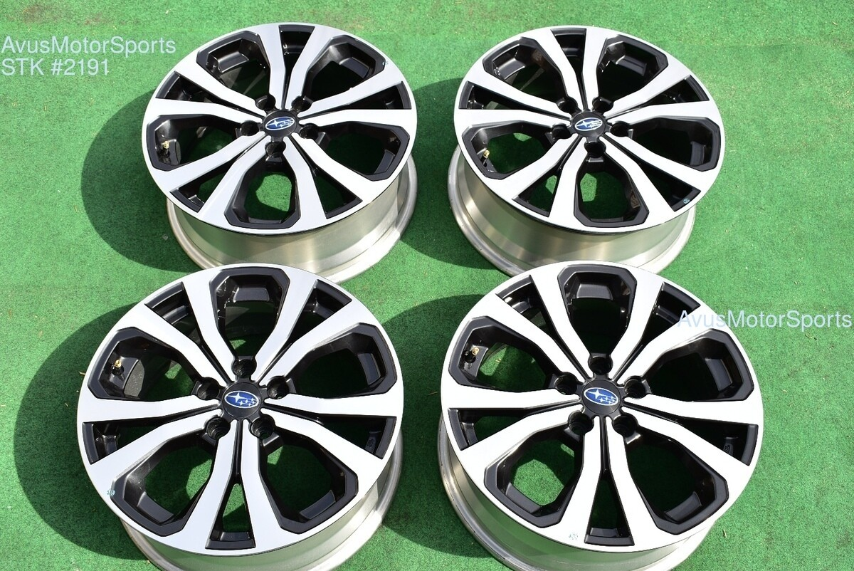 "18"" Subaru Forester Limited OEM Factory Wheels 2019 Genuine Outback Ascent"