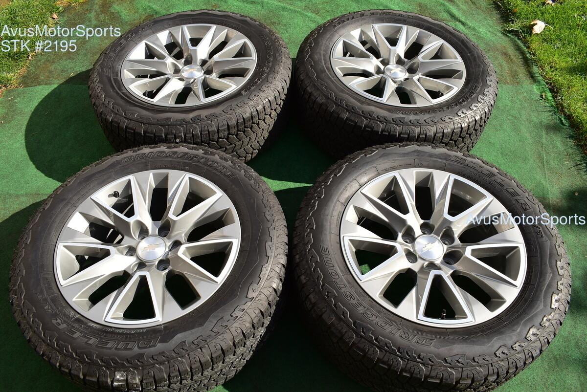"20"" Chevrolet SILVERADO 1500 High Country OEM FACTORY WHEELS Tahoe 275/60r20"