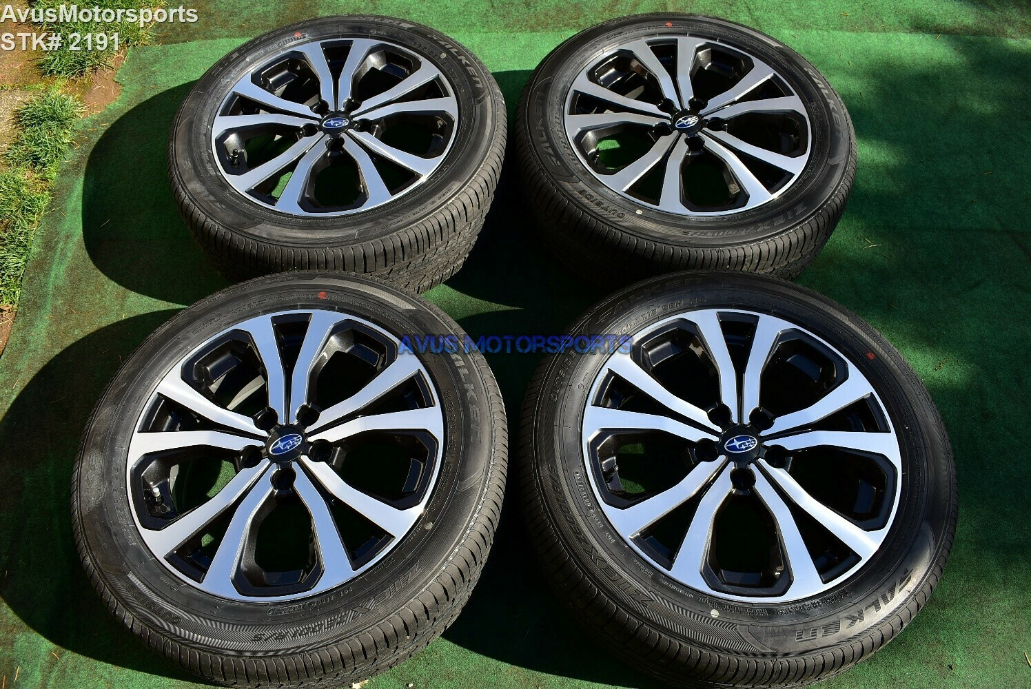 "18"" Subaru Forester OEM Factory Wheels Limited 225/55R18 Tires 2020 5x114"