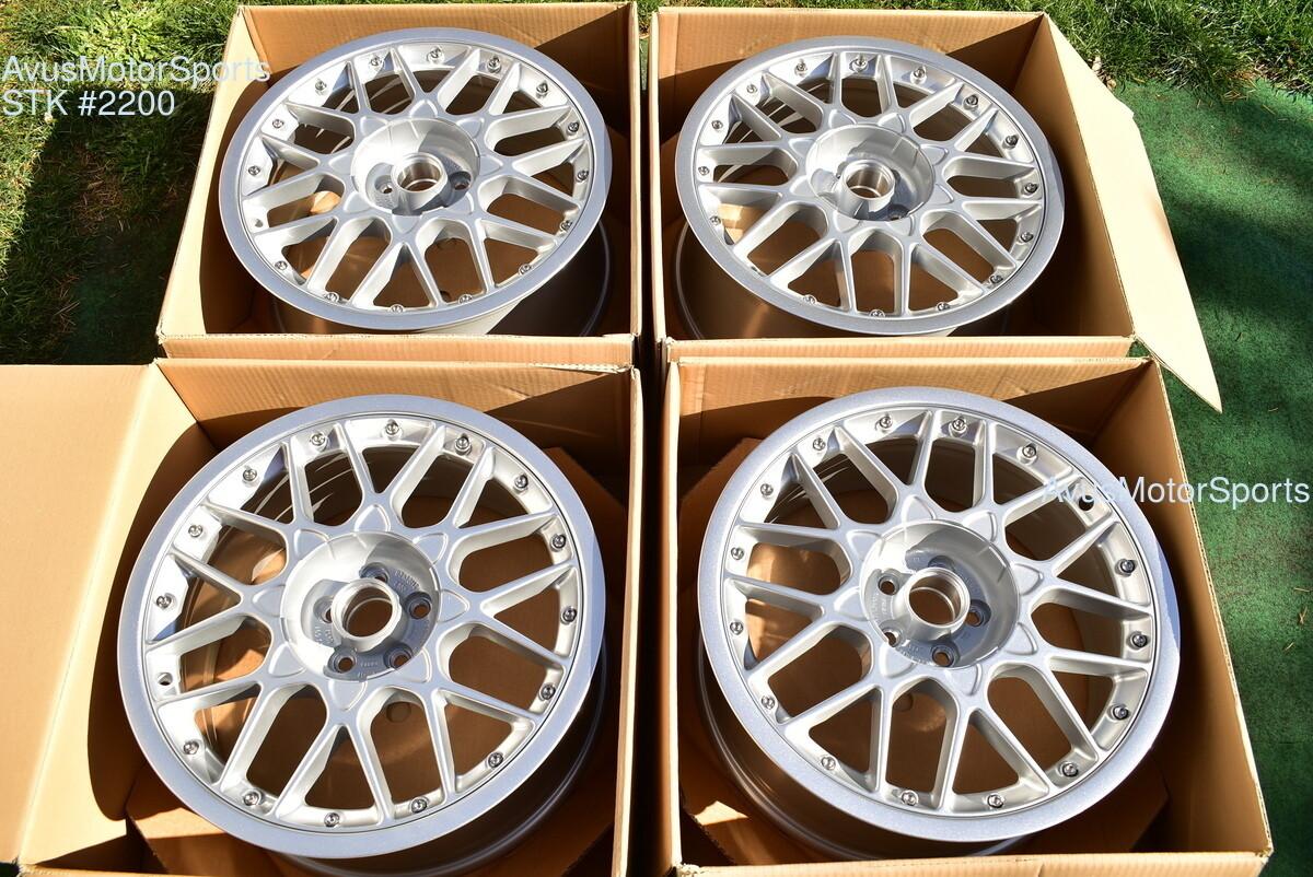 """18"""" Audi TT  BBS RS II Factory OEM Wheels part# 8N0-601-025-J-Z17 5x100"""
