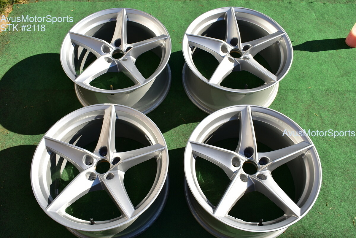 "18"" Audi A5 Factory OEM Wheels 2019 part# 8W0601025BG silver"