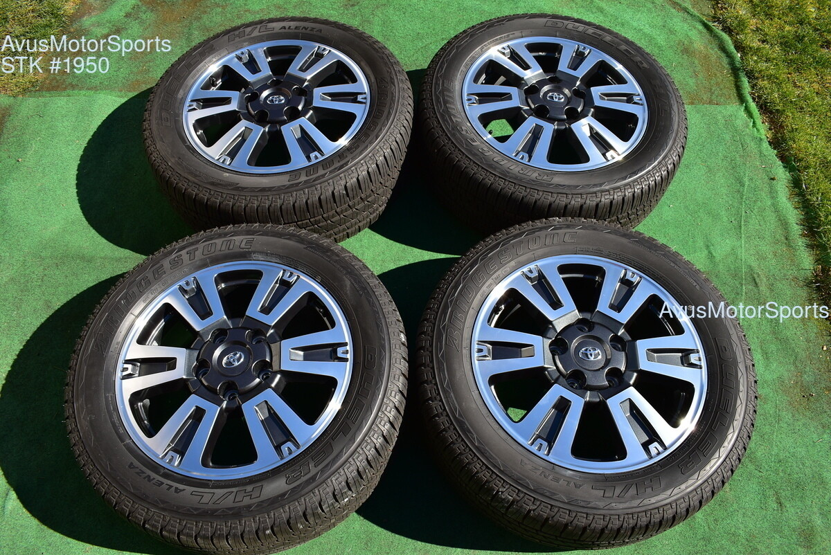 "20"" Toyota Tundra TRD Sport OEM Wheels Tire Sequoia Land Cruiser Lx570 2018"