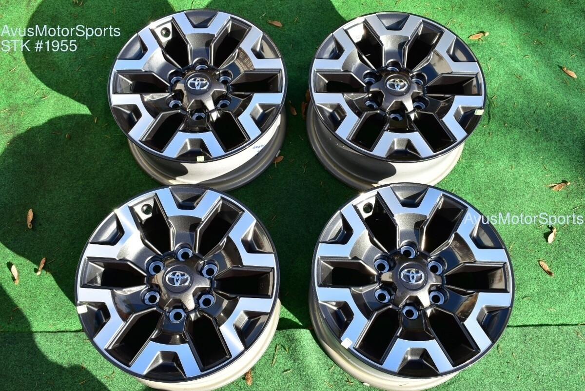"""16"""" TOYOTA TACOMA OEM FACTORY TRD OFFROAD WHEELS 4runner Tundra 2019"""
