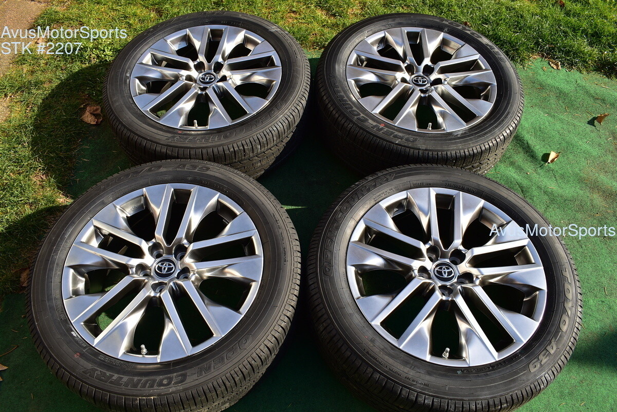 "19"" Toyota Rav4 Limited OEM Factory Wheels & Tires 235/55r19 + TPMS 2019"