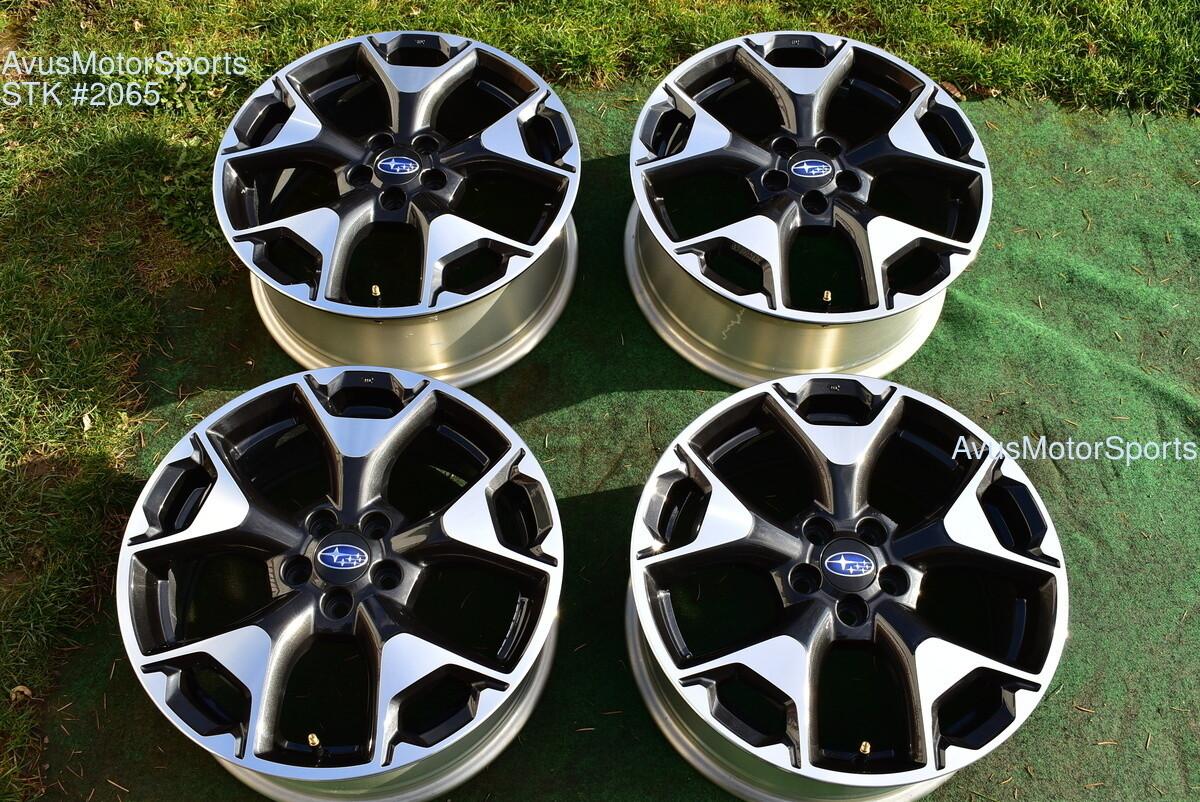 "2019 Subaru XV Crosstrek OEM 17"" Factory Wheels 5x100 Impreza Forester Outback"