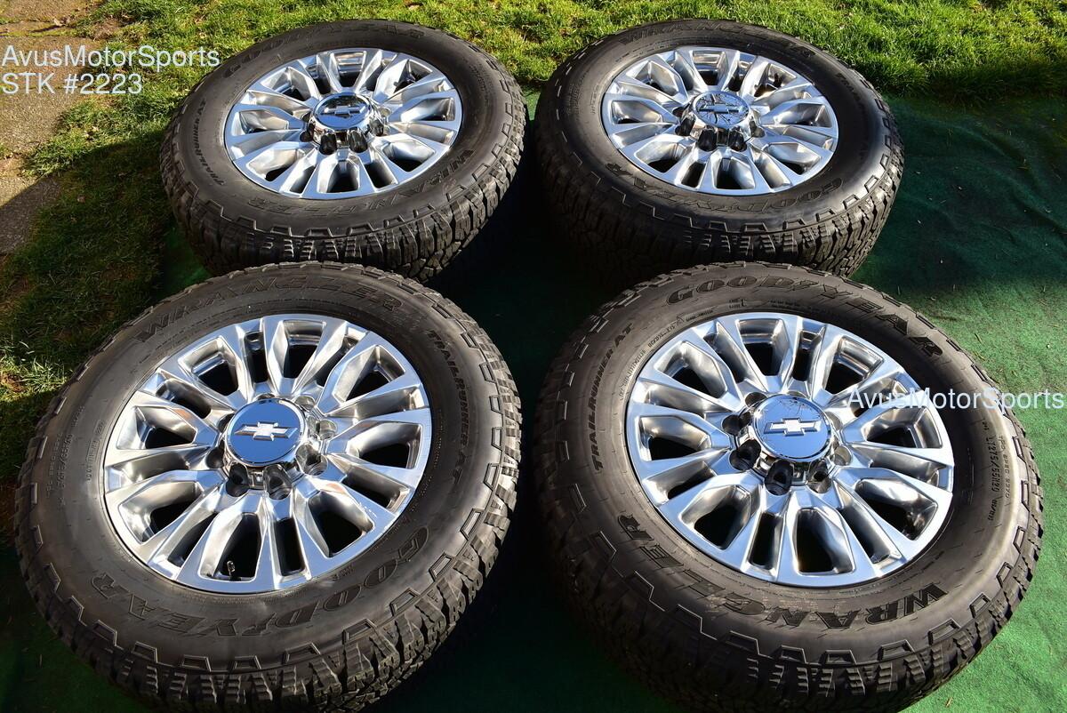"20"" Chevy Silverado 2500 3500 OEM High Country FACTORY WHEELS GMC Sierra 2020"