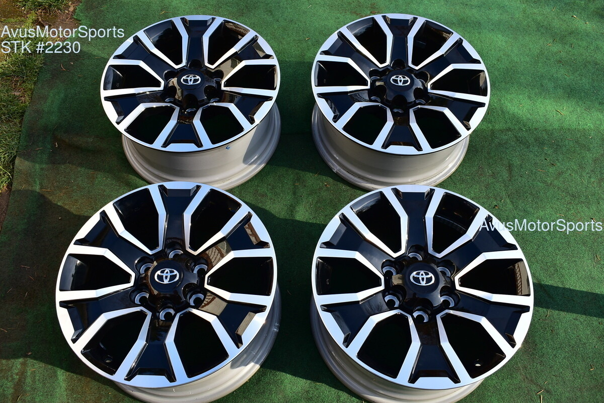 "17"" TOYOTA TACOMA OEM FACTORY TRD Sport WHEELS Tires 4runner Tundra 2020"