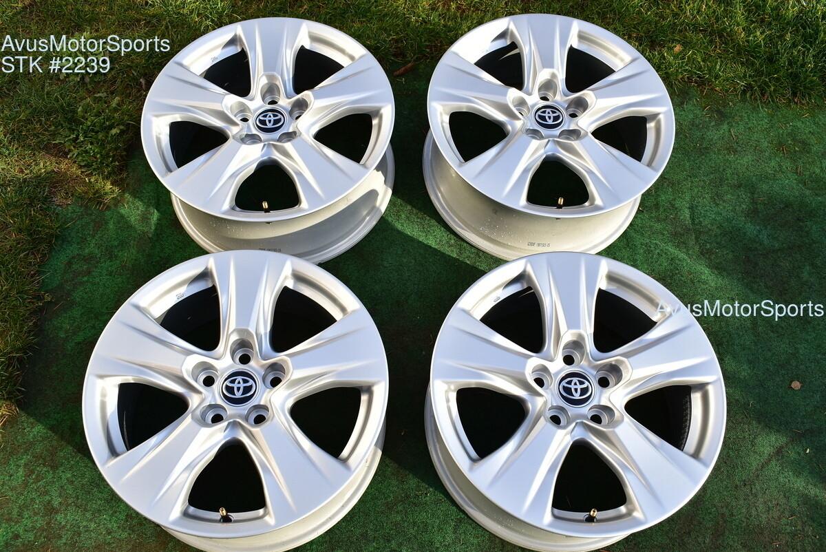"17"" Toyota Rav4 OEM Factory Wheels 2019 5x114 4261B0R240"