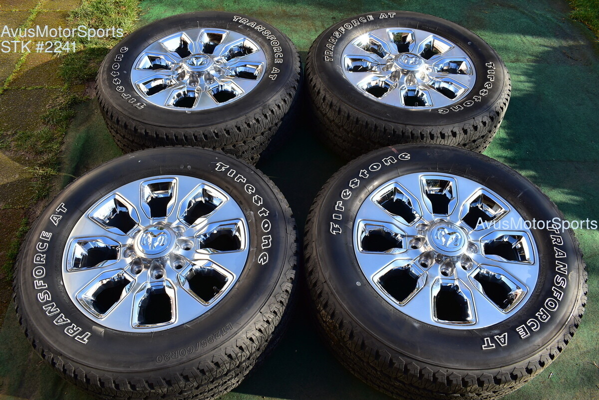 """20"""" Dodge Ram 2500 3500 Limited Edition OEM Factory Wheels Tires 2019 2018"""