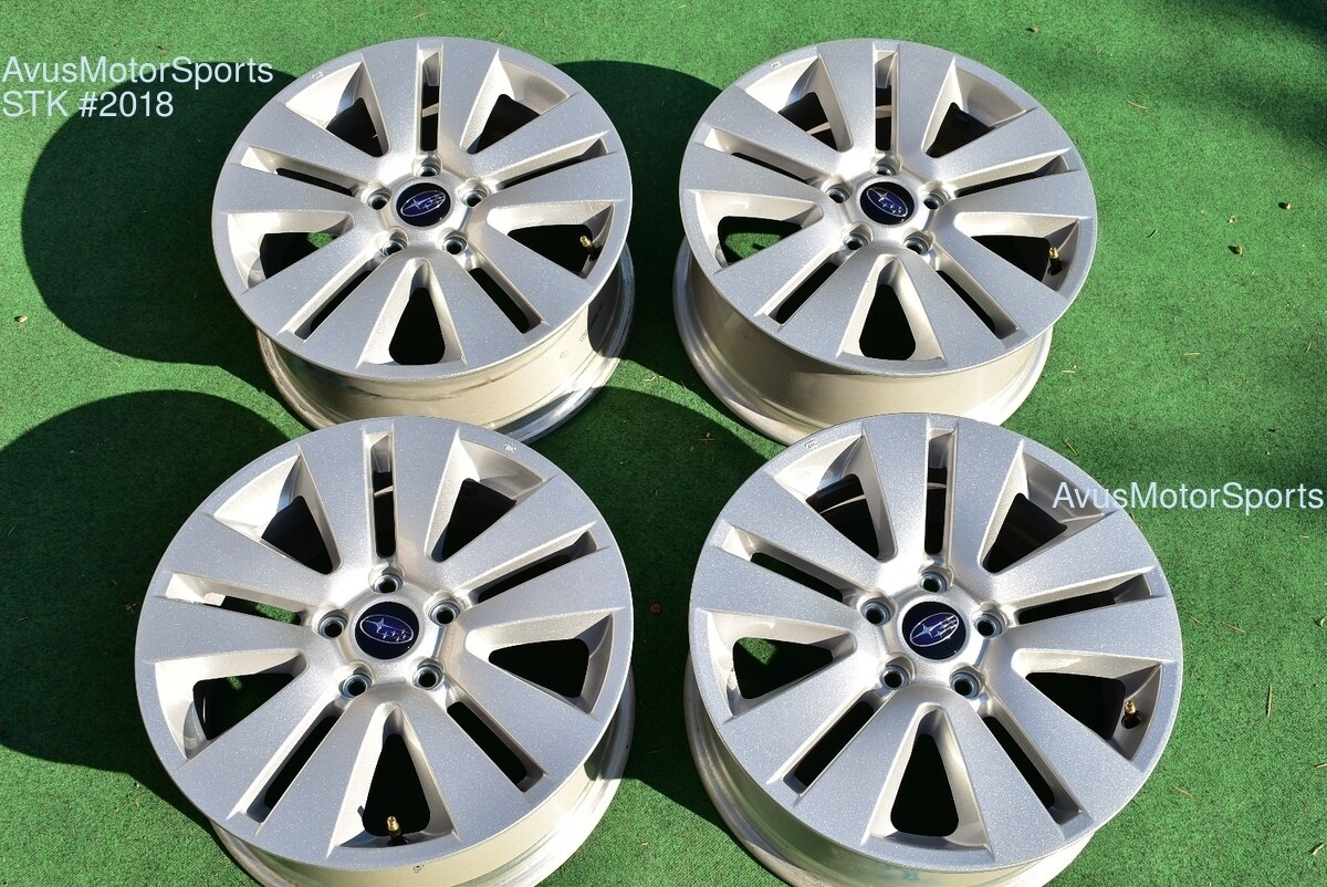 "17"" Subaru Outback OEM Factory Wheels Legacy 2018 2017 2016 part 28111AL02A"