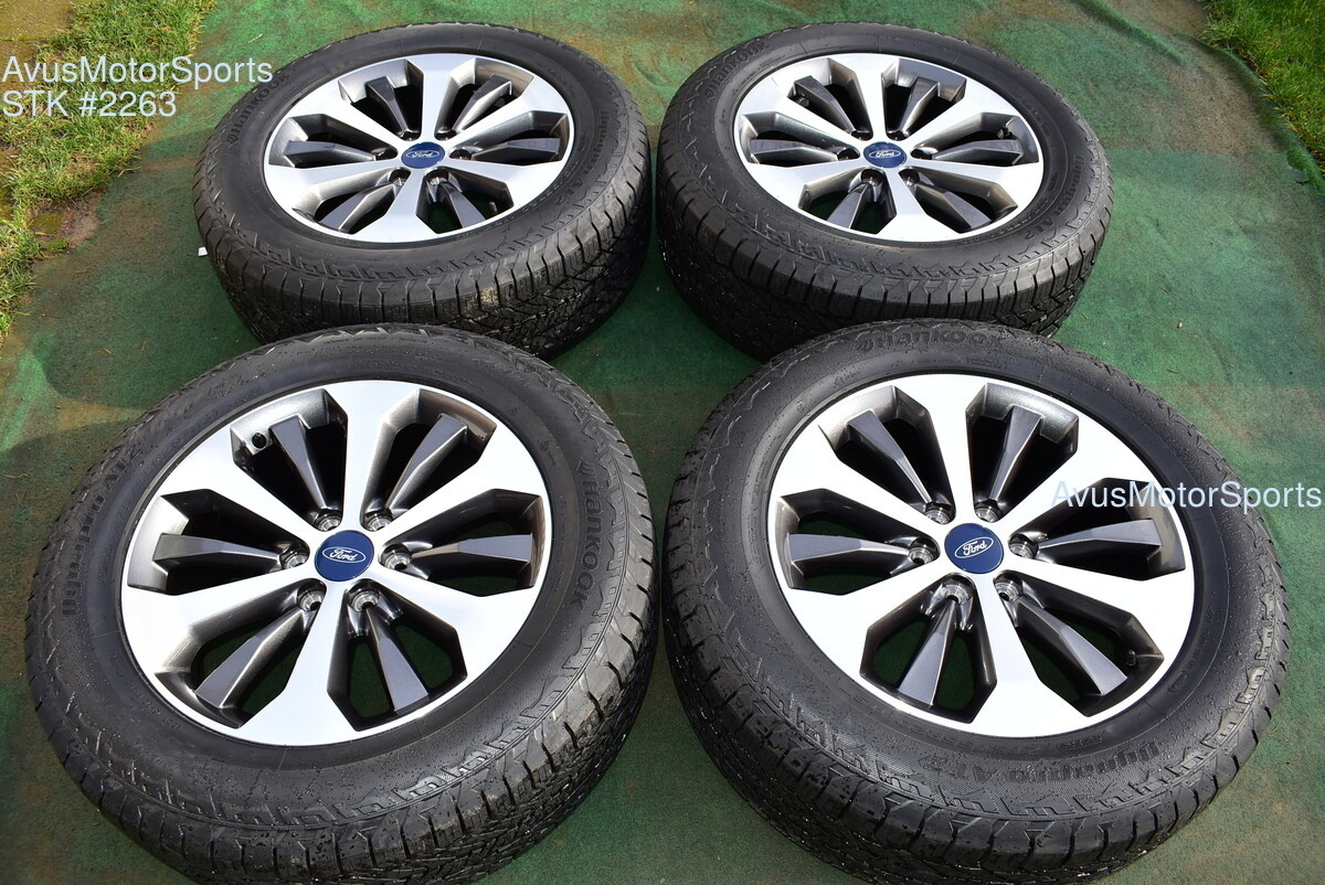"""20"""" Ford F150 OEM Factory FX4 XLT Lariat Wheels Tires Expedition Sport 2018 2019"""