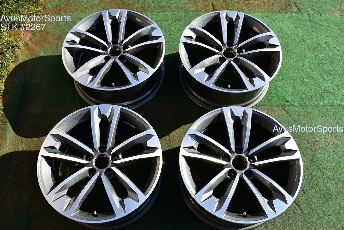 "18"" Audi A4 Allroad Factory OEM Wheels 2019 2018 2017 part# 8W9601025C"