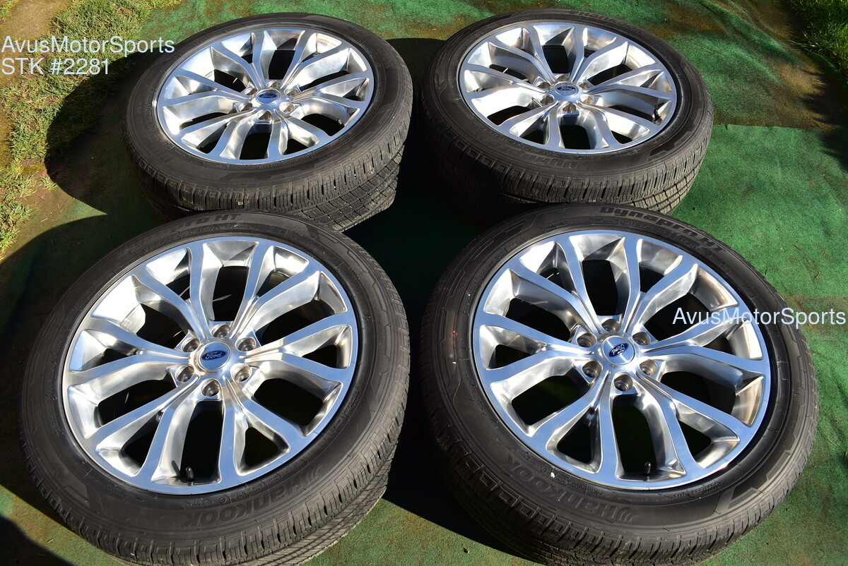 "22"" Ford Expedition Platinum MAX OEM Factory Wheels Tires F150 2020 2019 TPMS"