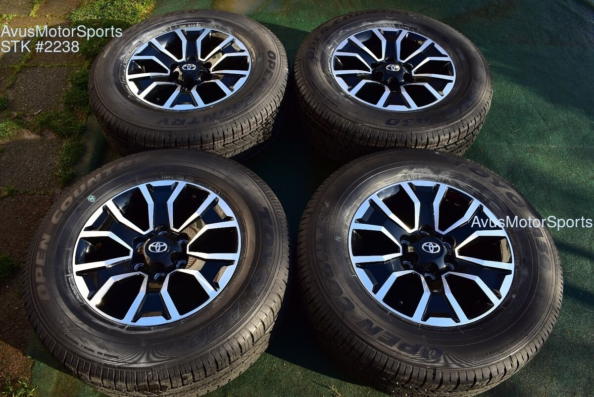 "17"" TOYOTA TACOMA OEM FACTORY TRD Sport WHEELS Tires 4runner Tundra 2020"