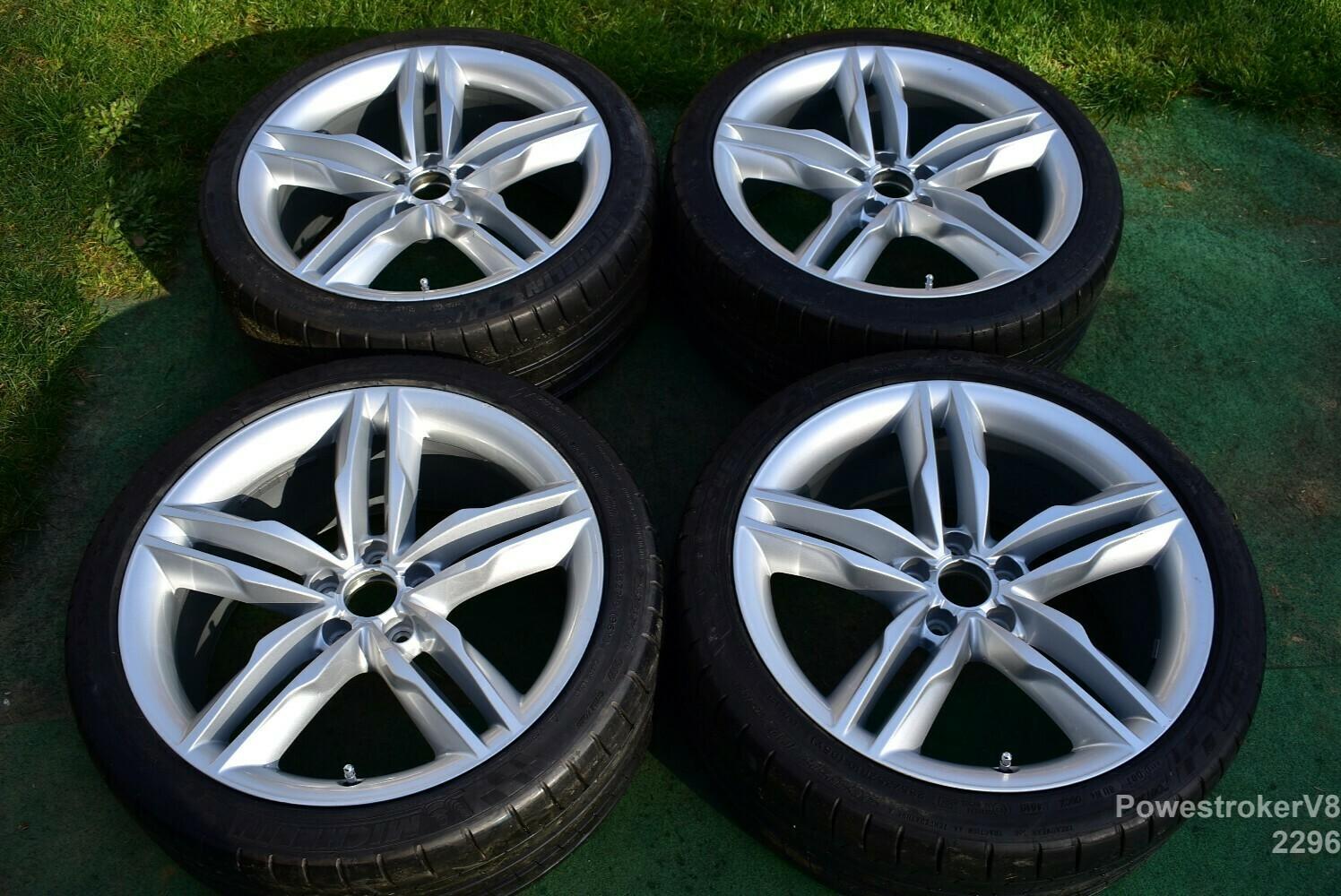 """19"""" Audi S5 A5 OEM Factory Genuine Wheels 2010 2011 2012 part# 8T0601025H"""