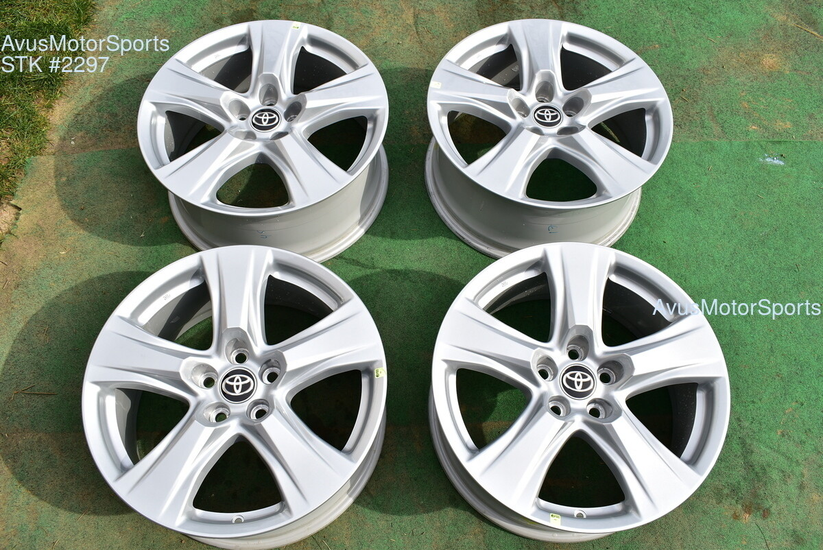 "18"" Toyota Highlander OEM Wheels Tacoma Lexus RX450 RX350 RX300 Venza 2020"
