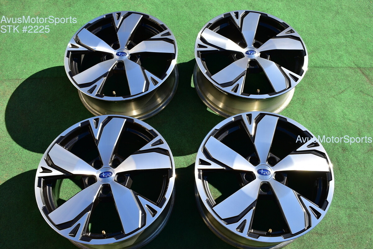 """18"""" Subaru Forester Touring OEM Factory Wheels 2019 Genuine Outback Ascent"""