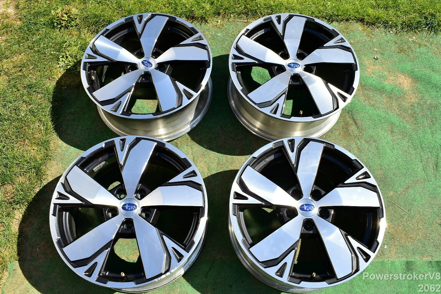 """18"""" Subaru Forester Touring OEM Factory Wheels 2019 Genuine Outback Ascent 5x114 part# 28111SJ070"""