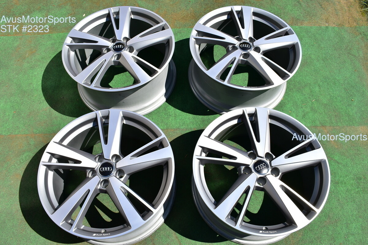 "19"" Audi RS3 OEM Dynamic Package BBS Factory Wheels S3 Staggered 2019"