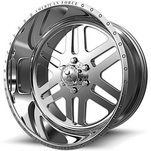 """20x12 American Force AFW9 Liberty SS Forged Wheels 20"""" Chevy ram 6x5.5 6x139 -40"""