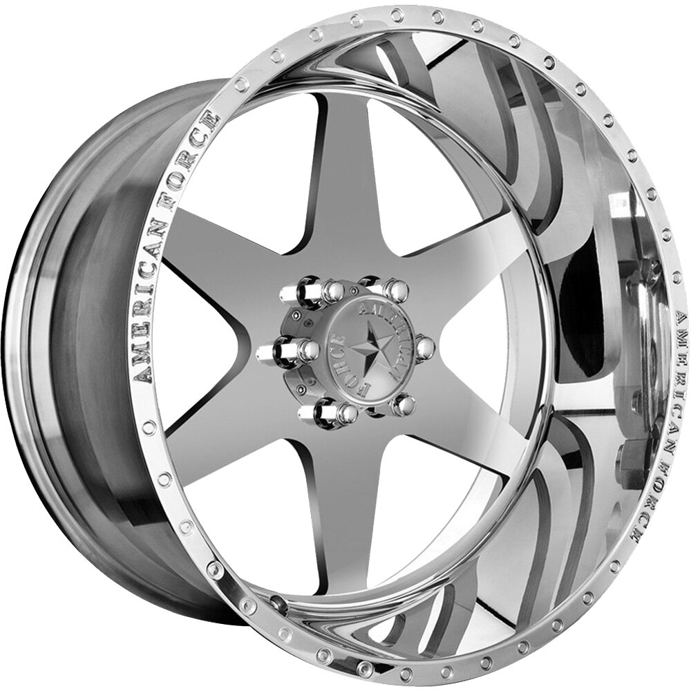 """20x12 American Force Independence SS Forged Wheels 20"""" Chevy ram 6x135 -40"""