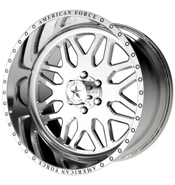 """22x12 American Force Trax SS Forged Wheels 22"""" Chevy ram 6x135 -40"""