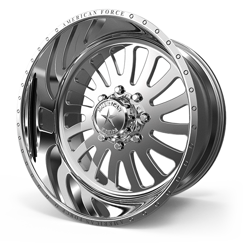"""24x14 AMERICAN FORCE Octane SS FORGED WHEELS 24"""" Chevy GMC 2500 3500 8x180"""