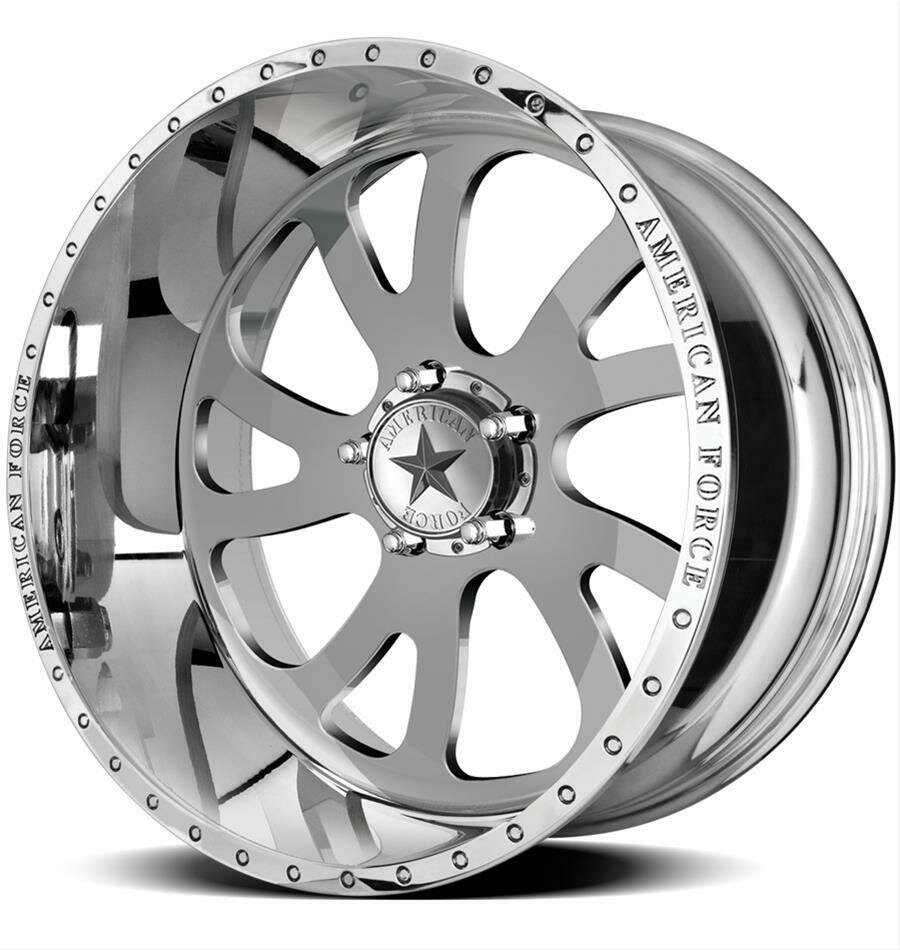 "22x10 set of (5) American Force Octane SS Forged Wheels 22"" Jeep JK JL 5x5"" 5x127 -18"