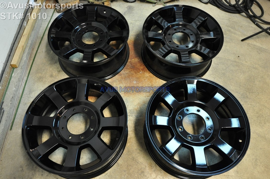 "20"" Ford F250 Super Duty OEM Factory Wheels F350 FX4 Gloss BLACK 2008 2009 2010 7C3Z1007C or 7C341007CA"