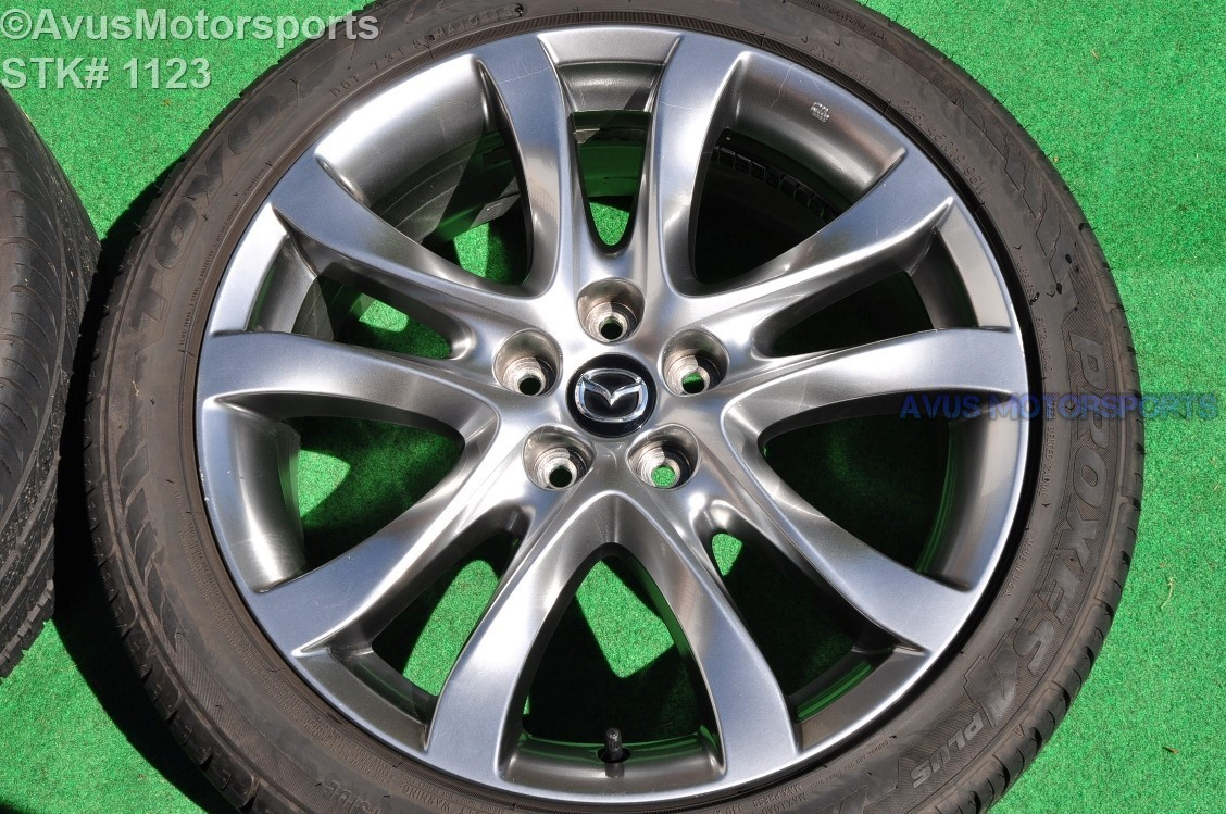 "2014 Mazda 6 Grand Touring OEM 19"" Factory Wheel & Tire Toyo 225/45R19 2015 9965047590"
