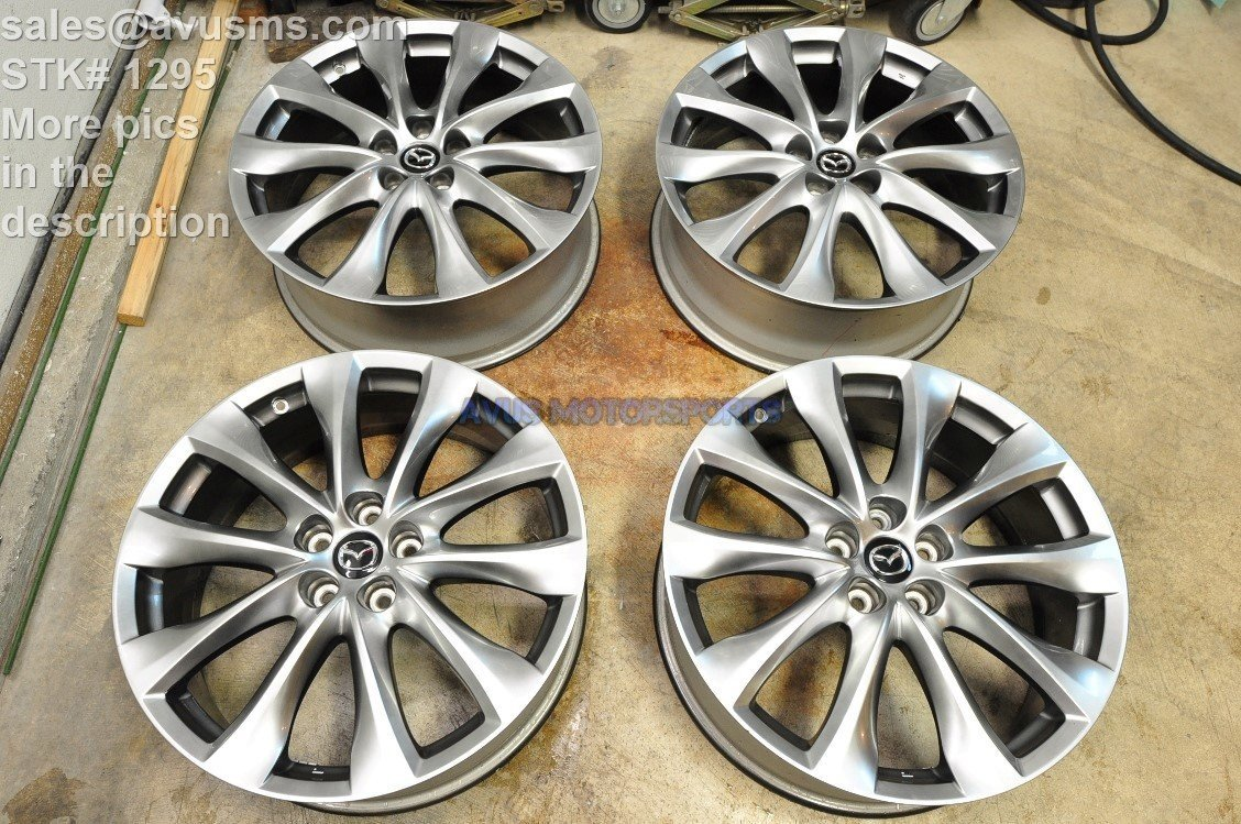 "Mazda CX-9 GT OEM 20"" Factory Wheels CX5 Mazda6 6 CX9 2014 2015"