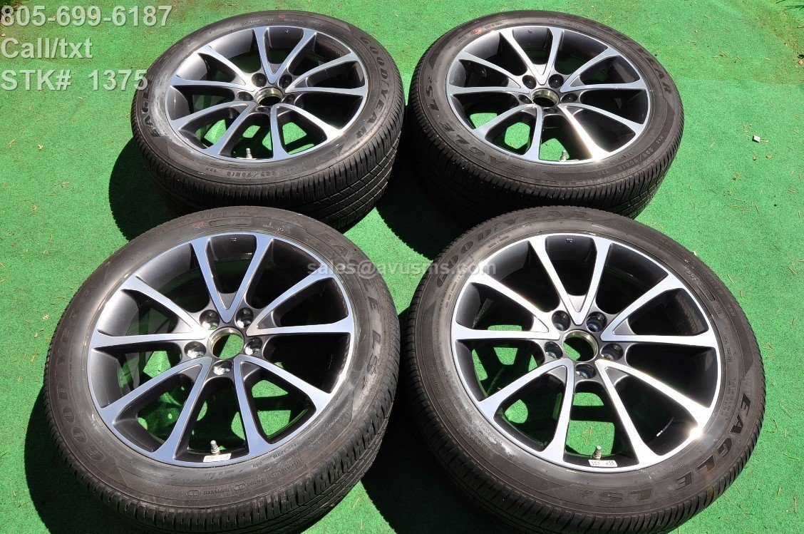 """18"""" Acura TLX OEM FACTORY WHEELS & Goodyear LS2 225/50R18 TIRES TPMS"""