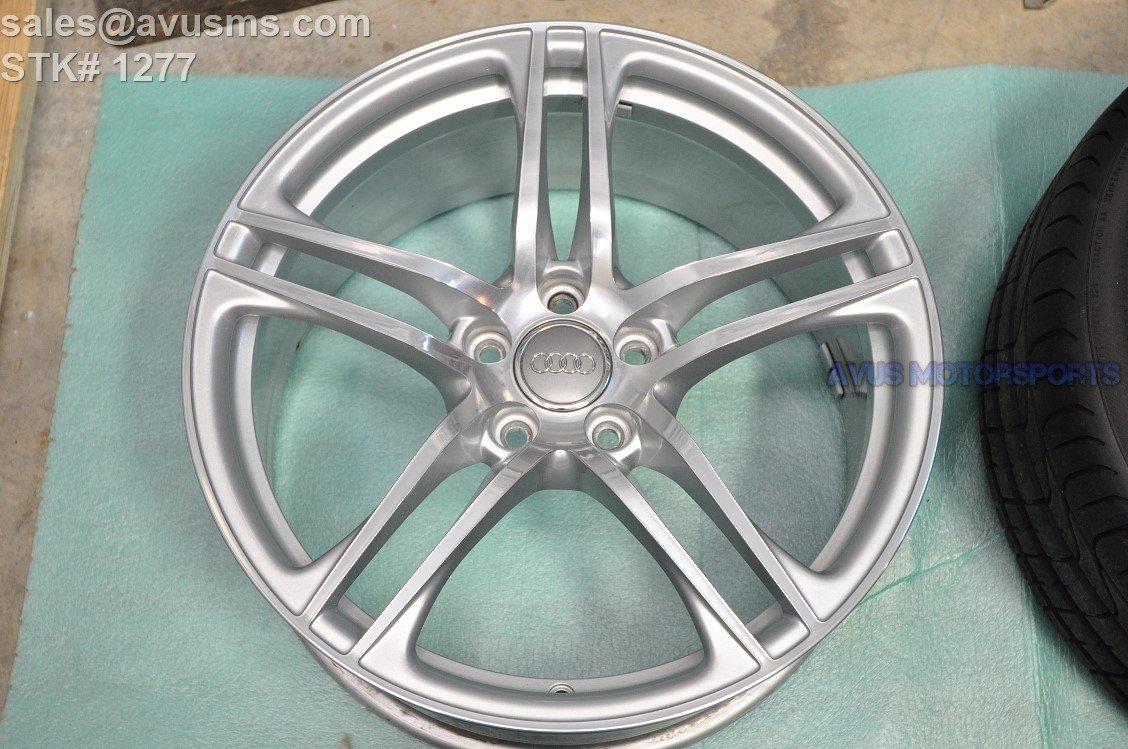 """19"""" Audi R8 GT V8 V10 Plus Factory OEM Genuine Front Wheel Polished 420601025AC"""