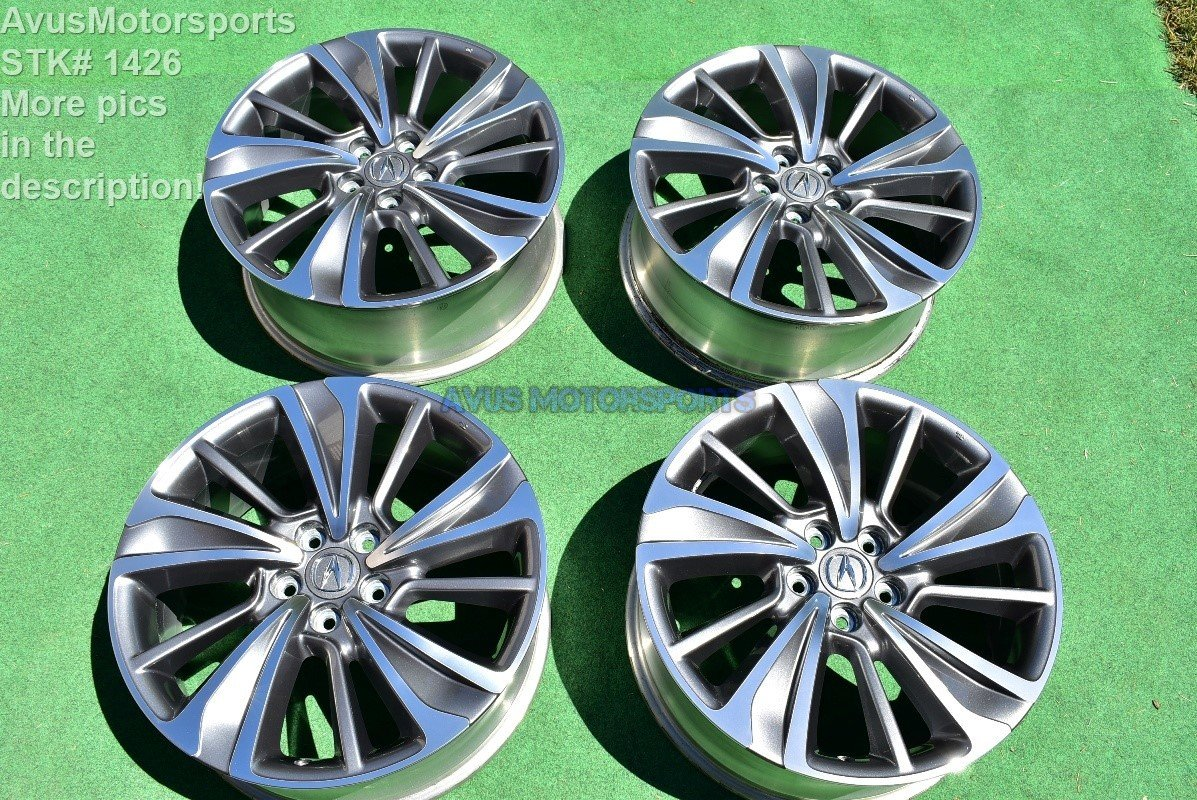 "20"" Acura MDX OEM Factory Wheels TL Honda Pilot Ridgeline 2017 NEW TAKE OFF TPMS"