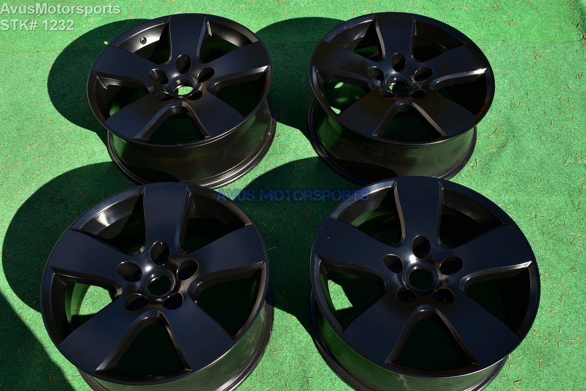 "20"" Dodge Ram OEM 1500 Factory Wheels Powder Coated Satin Black Dakota"
