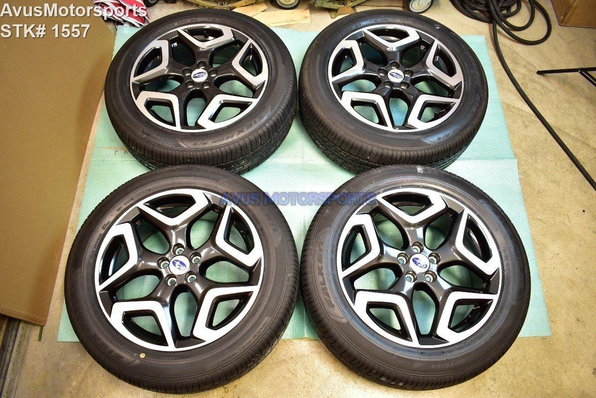 """2018 Subaru XV Crosstrek Limited OEM 18"""" Factory Wheels 225/55R18 Tires + TPMS"""