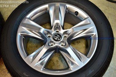 2017 Toyota Highlander OEM 19