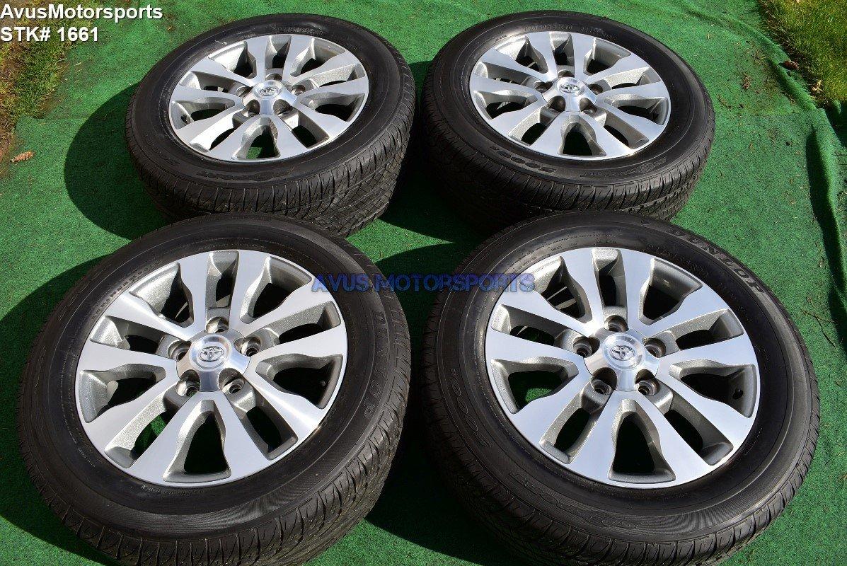 "20"" Toyota Tundra Limited OEM Wheels Tires Sequoia Land Cruiser Lx570 2017"