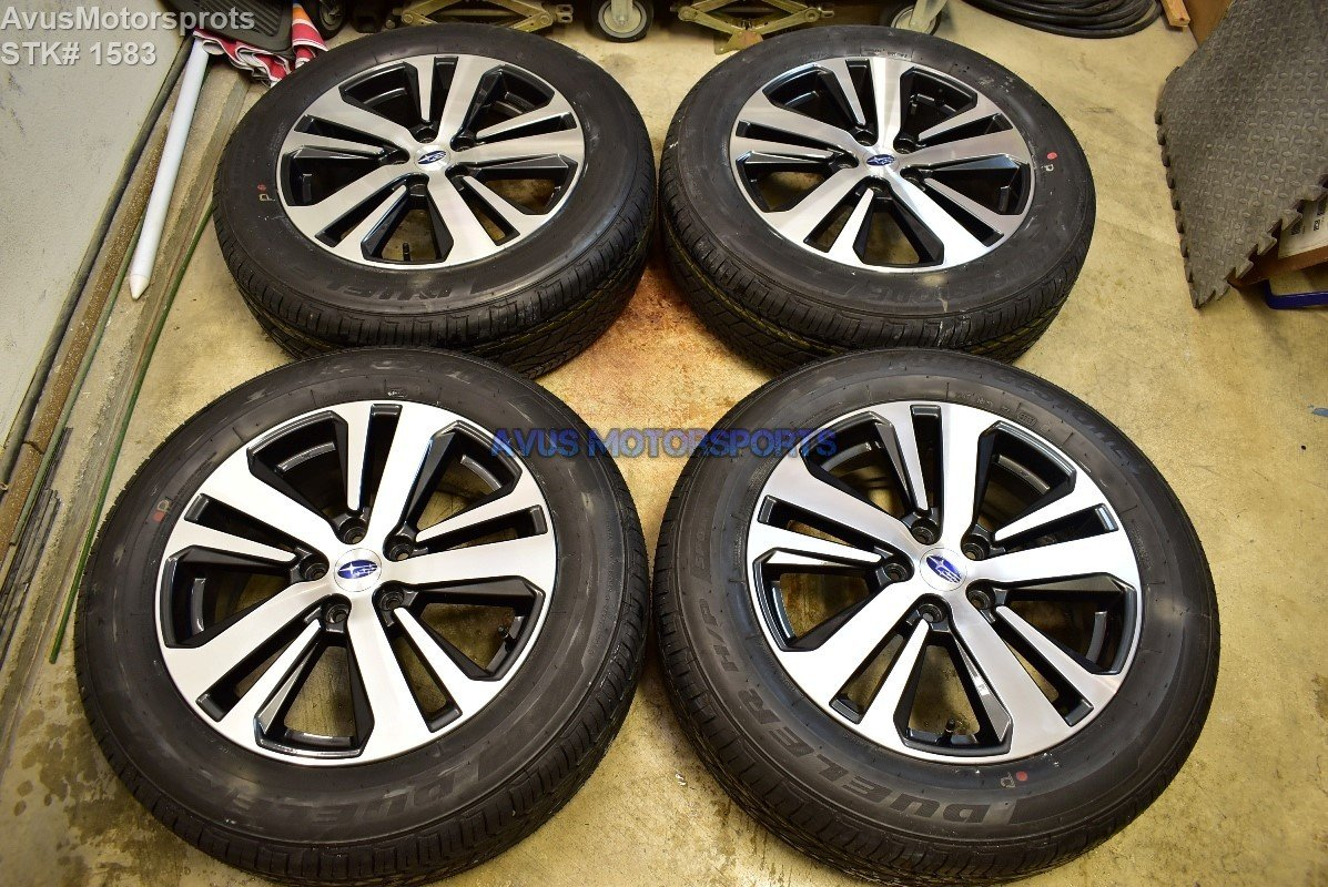 "2018 Subaru Outback Limited 18"" OEM Factory Wheels 225/60R18 Tires 2017"