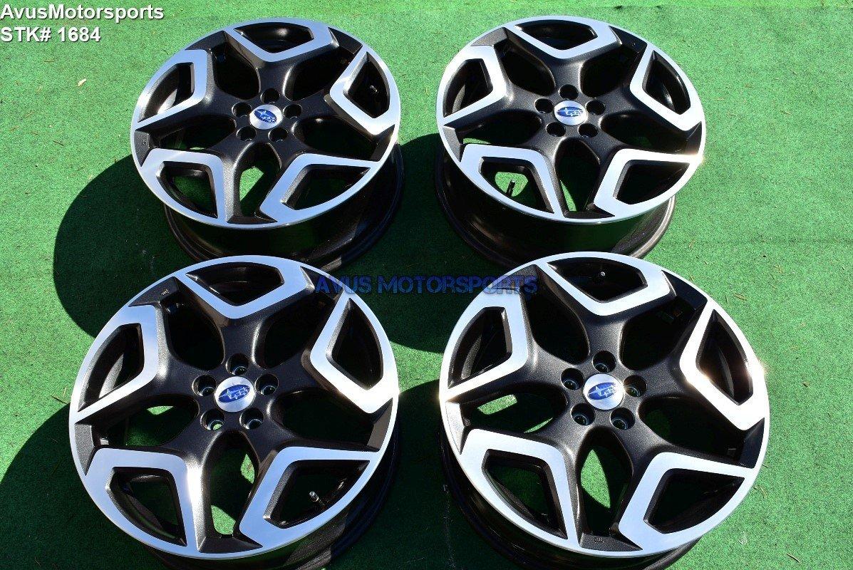 "2018 Subaru XV Crosstrek Limited OEM 18"" Factory Wheels Forester Outback 5x100"