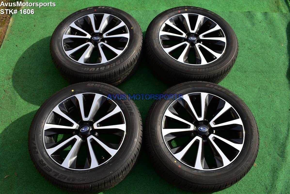 "2018 Subaru Forester XT Limited OEM 18"" Factory Wheels Tires Outback"