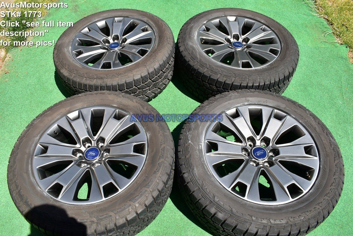 """20"""" Ford F150 OEM Factory Appearance Package Wheels Tires Expedition 2017 2018"""