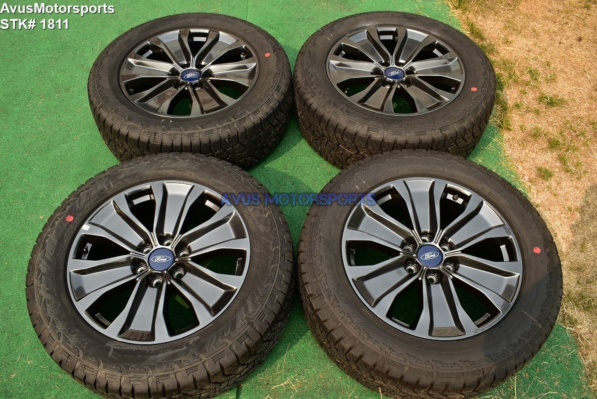 """20"""" Ford F150 OEM Factory Appearance Package Wheels Tires Expedition 2018 2017"""