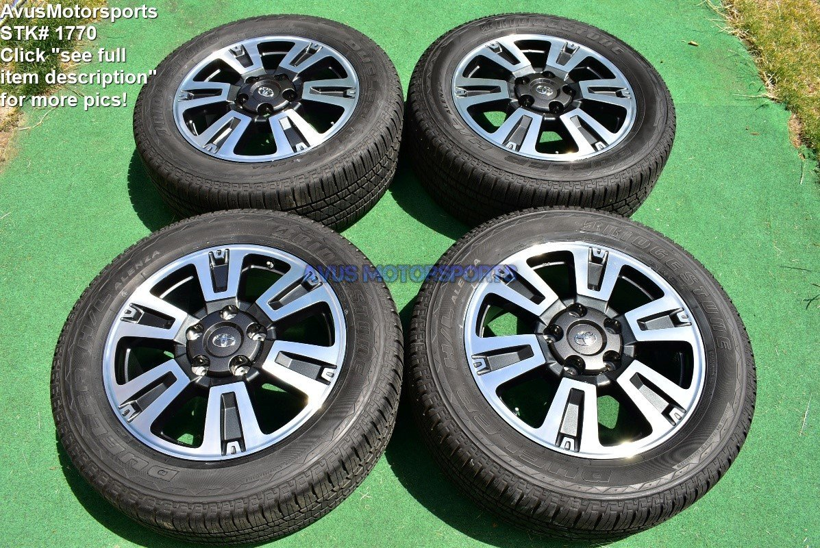 "20"" Toyota Tundra TRD Sport OEM Wheels Tire Sequoia Land Cruiser Lx570 2018"