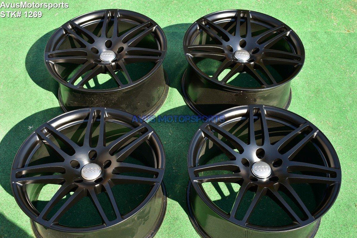 "21"" Audi Q7 S-Line OEM Wheels Black"