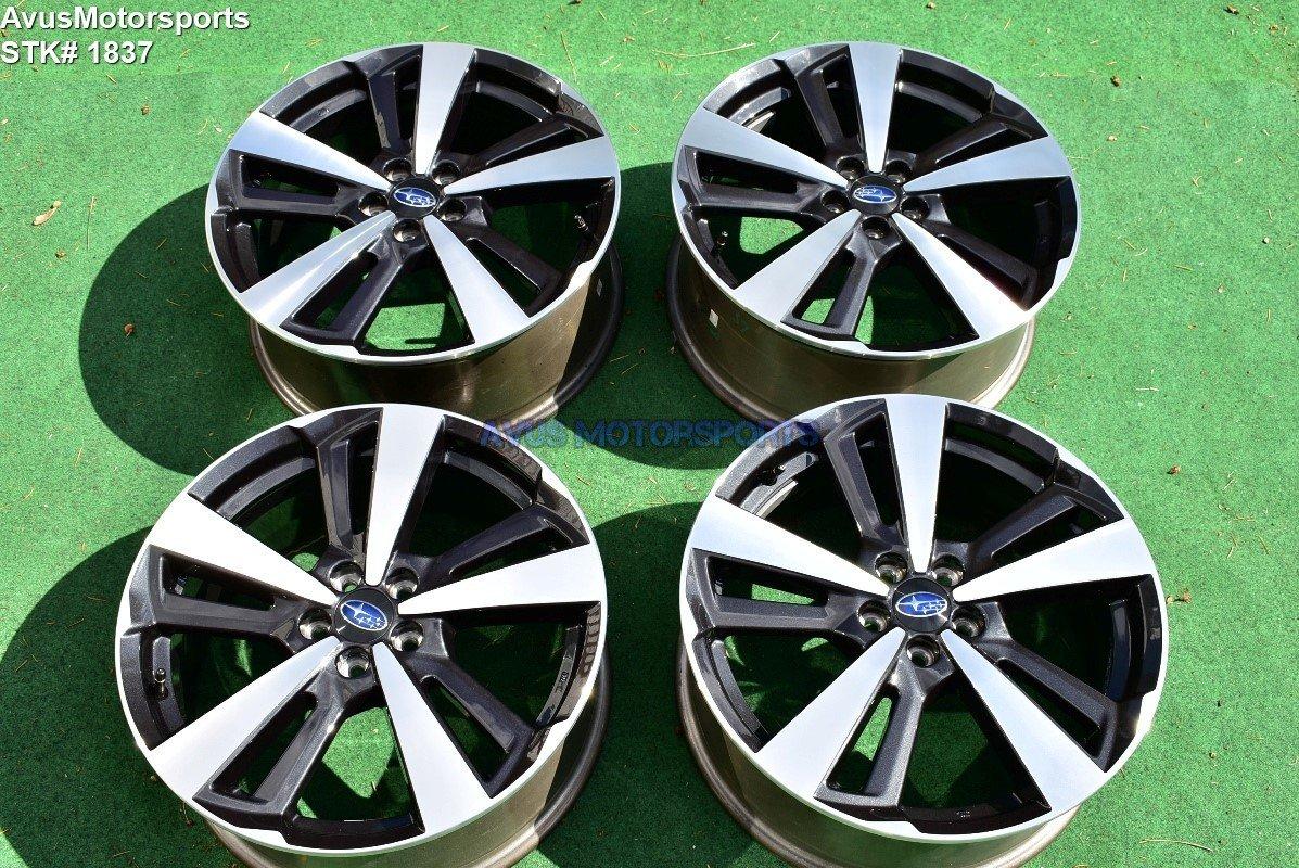 "18"" Subaru Impreza OEM Factory Genuine Wheels 2018"